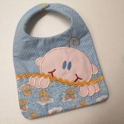 Bavaglia neonato in cotone
