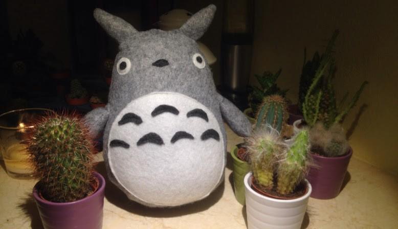 Totoro in feltro